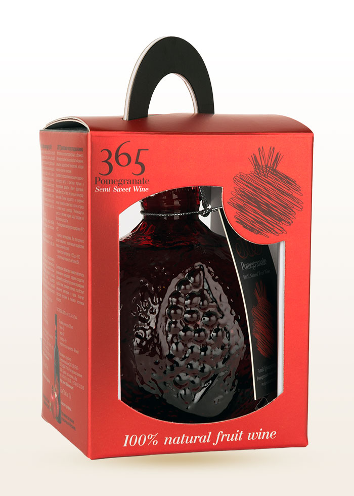 365 Pomegranate WIne in box